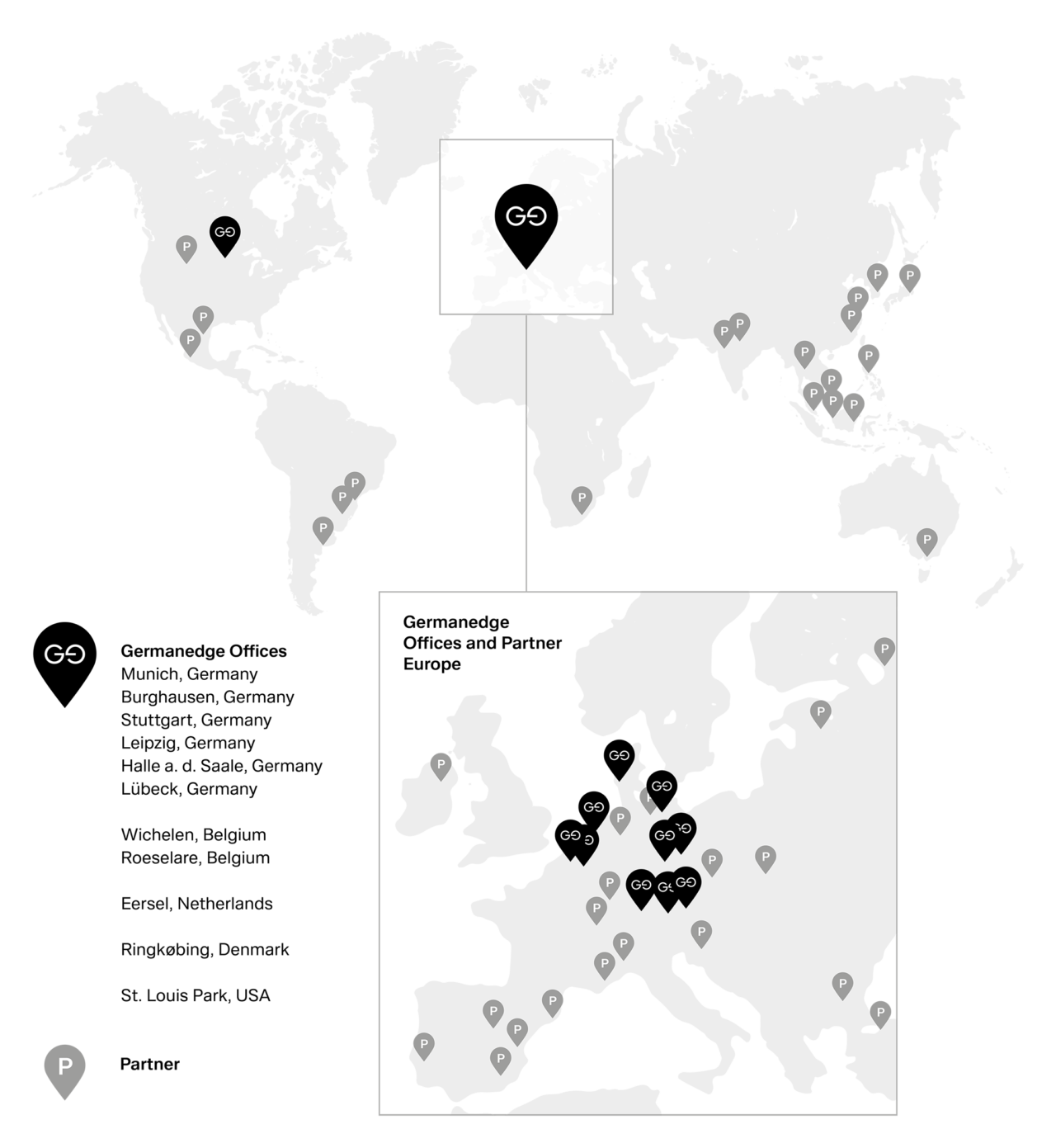 Germanedge Global Footprint